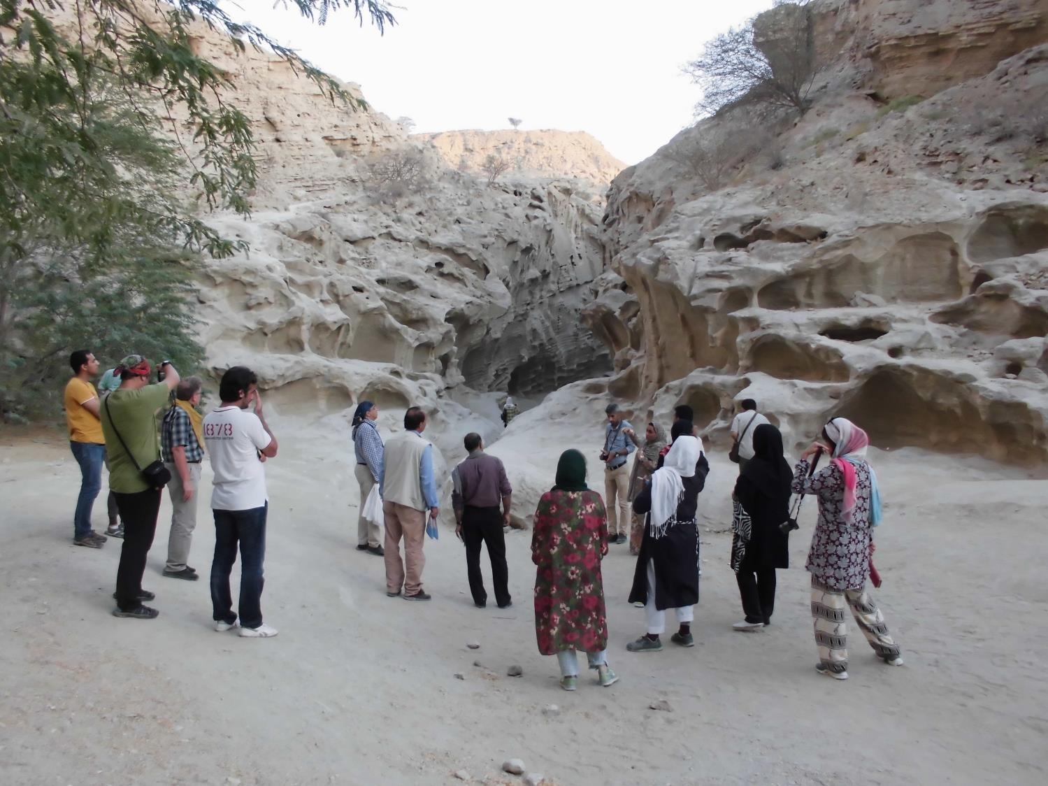 ゲシュム島でのエコツーリズム観光客を誘致するため、イランの旅行会社を対象としたFamilializationトリップを実施し、ゲシュムの魅力を伝えることで、島内のツアー企画を支援しています。