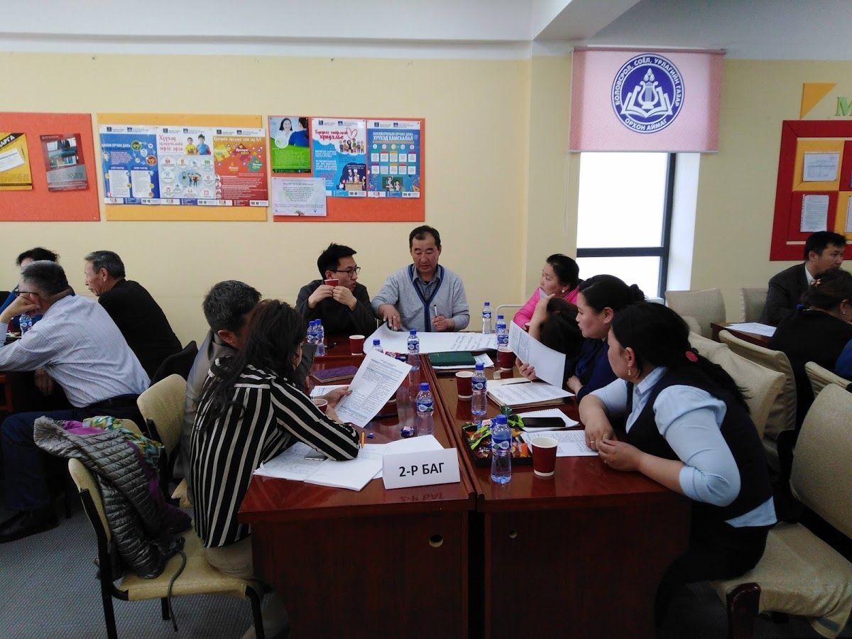 地方行政官及びや住民代表、地場企業代表者らを対象にワークショップを開催し、県の開発課題や展望についてのグループディスカッションを実施した。